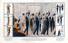 André Pécoud 1914 La Pericon Argentine, Dancers, Roaring Twenties