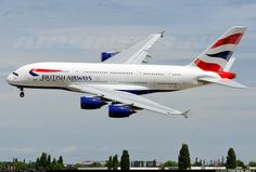 British Airways F-WWSK Airbus A380-841 aircraft picture