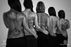 Polynesian style back tattoos by Patu Mamatui. - Polynesian style back tattoos by Patu Mamatui. Maori Tattoos, Maori Tattoo Meanings, Tribal Back Tattoos, Tribal Tattoos For Women, Back Tattoo Women, Marquesan Tattoos, Tattos, Polynesian Tattoo Sleeve, Polynesian Tattoos Women