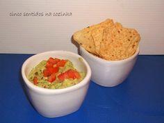 Cinco sentidos na cozinha: Guacamole com tomate