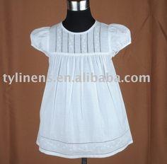 Short manga bordadoras y vainicas mano vestido niña-en Vestidos para chica de Ropa Niños en m.spanish.alibaba.com.