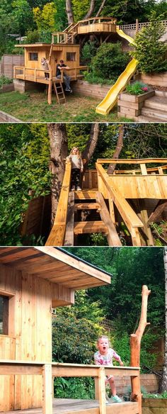 Another wonderful dad, Joe Rackley from Watford has built a stunning garden treehouse for his two daughters during the time when England was in lockdown due to coronavirus. He started the project on April 1 with the idea to create a space for his daughters to play while the schools were shut.