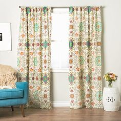 Shop for Greenland Home Fashions Esprit Spice 84-inch Curtain Panel Pair. Free Shipping on orders over $45 at Overstock.com - Your Online Home Decor Outlet Store! Get 5% in rewards with Club O!