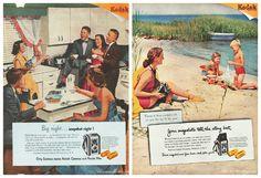 Vintage Kodak Brownie Ads  1950s