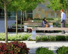 Grange Insurance Headquarters Landscape   Columbus USA   NBBJ