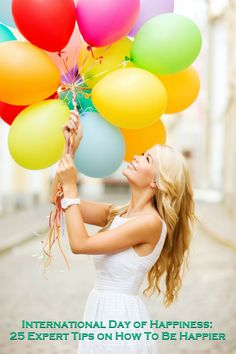Woman and Balloon Birthday Images, Stock Photos & Vectors Balloons Photography, Birthday Photography, Creative Photography, Cute Birthday Pictures, Birthday Images, Pretty Photos, Beautiful Pictures, International Day Of Happiness, Wholesale Balloons