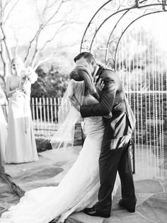 the first kiss, wedding ceremony