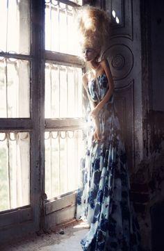 Summer Ghost. Photographer Lelya Martian Fashion