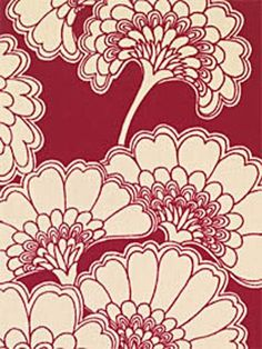 Florence Broadhurst japanese floral - expensive but could be an option as a feature (cushion or ottoman)
