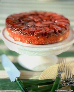 Plum Upside-Down Cake - Martha Stewart Recipes