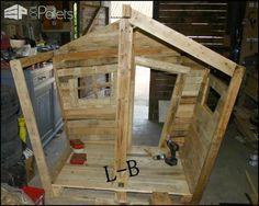 Pallet Kids Hut Pallet Sheds, Pallet Cabins, Pallet Huts & Pallet Playhouses