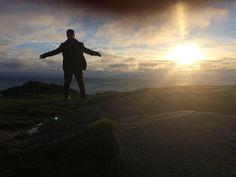 Mrs Hewson spies a dervish on Killiney Hill #U2ieTour by u2