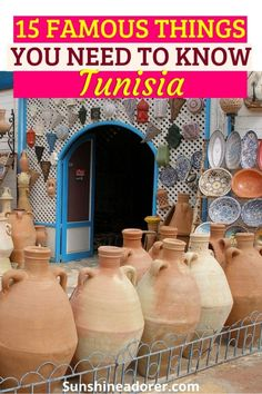 15 Most Famous Things from Tunisia to Know - Sunshine Adorer Tourist Places, Beach Town, Beautiful Beaches, Sunshine, Africa, Travel, Viajes, Nikko, Destinations
