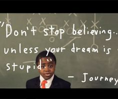 "Kid President's Pep Talk - Kid President has put together a video you can play each morning as you wake up or to share with your friend who needs a kick in the right direction. ""It's everybody's duty to give the world a reason to dance."""