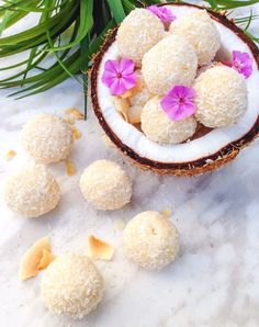 These coconut bliss balls are like coconut heaven! Filled with tons of coconut flavors these make the perfect energy snack or dessert!