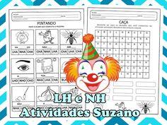 Trabalhando NH e LH EM PDF - Atividades Adriana