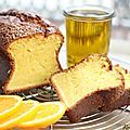 Cake à l'huile d'olive et à l'orange {recette}