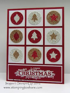 Stamping to Share: 11/21 Stampin' Up! Sparkling Merry Minis