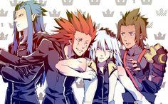 Tags: Anime, Kingdom Hearts, Riku, Organization XIII, Axel