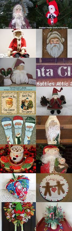 Santa Is Coming To Christmas In July by Karen Blevins on Etsy--Pinned with TreasuryPin.com