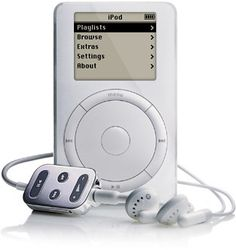 My first iPod. No longer syncs, and it only works plugged in.  But at least it works.