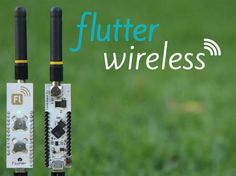 Flutter: $20 Wireless Arduino with half mile (1km) range. project video thumbnail