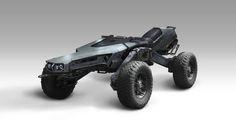 ArtStation - World Runner: Vehicle Concept, Steve Wang
