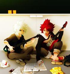 Inazuma eleven & Burn e Gazelle