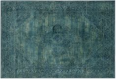 """Perhaps prefer if a bit more vibrant. 8'10""""x12'2"""" Medlin Rug, Turquoise/Multi   Downstairs   One Kings Lane"""
