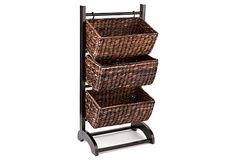 3-Tier Basket Cubby on OneKingsLane.com