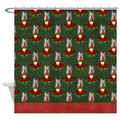 Christmas Lantern Holiday Shower Curtain 4 > Christmas Holiday > MarloDee Designs Shower Curtains