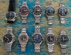 A Rolex Yacht-Master, three Omega, a pair of Panerai, pair of Oris Diver's 65, and a couple of Tudor Black Bay's have been added to our watch offerings.  Visit our website for more photos and information about these timepieces. We Watch, Tudor Black Bay, Popular Watches, Mechanical Watch, More Photos, Rolex Watches, Accessories, Mechanical Clock, Jewelry