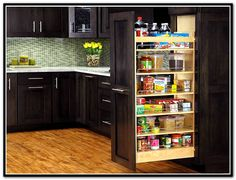 This Is A Soft And Self Closing Pullout Pantry Cabinet Awesome Pull Out Kitchen Cabinet Inspiration