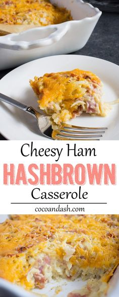 Perfect Easter/Spring side dish! EASY CHEESY HAM HASHBROWNS! Brought to you by #Castlewoodreserve ham and #walmart #ad #BeyondTheSandwich