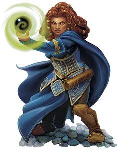 Female Dwarf Mage