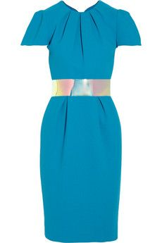 Roksanda Ilincic Oriel color-block wool-crepe dress   NET-A-PORTER