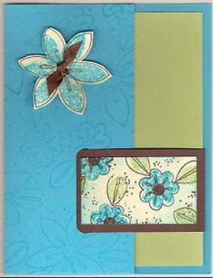 Splitcoaststampers - Big Buckle Card Project Tutorial by Beate Johns