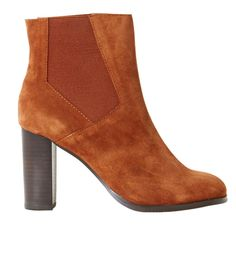 Women's leather boots - CHAUSSURE Womenswear Camaïeu.