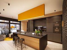 Cucina nera di design 22