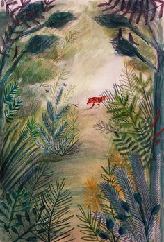 Jungle - About Today - Illustration by Lizzy Stewart