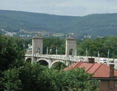 Wilkes-Barre, PA : Market Street Bridge, Wilkes-Barre