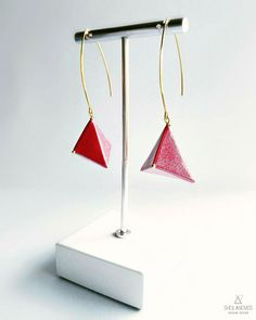 SheilAnemoS Origami Design - Paper Earrings