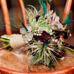 These eco-chic bridal bouquets will blow your mind!