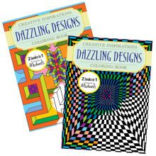 Creative Inspirations Dazzling Designs Coloring Book
