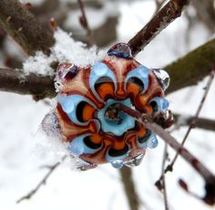 Awesome lampwork bead by Sanstyle