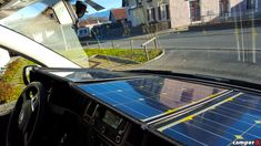 Mobiles SOLAR Modul-Panel-Anlage 100 Wp VW T5 / T6 Solar - camperX