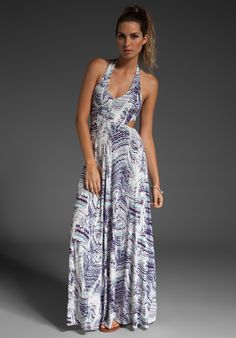 I am so in love with this Rachel Pally maxi dress!
