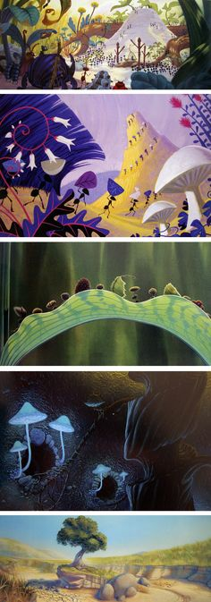 The-Art-of-Pixar-BugsLife (Tia Kratter, Bill Cone, Geefwee Boedoe)