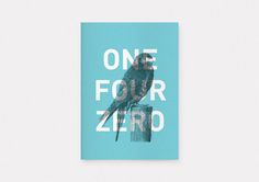 OneFourZero cover by Ryan Stannage Graphic Design