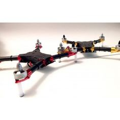 Heli-Nation RKH 250 Quad-X Custom BNF Built and Master Tuned by DriveFlyRC RED
